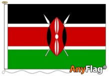 - KENYA ANYFLAG RANGE - VARIOUS SIZES